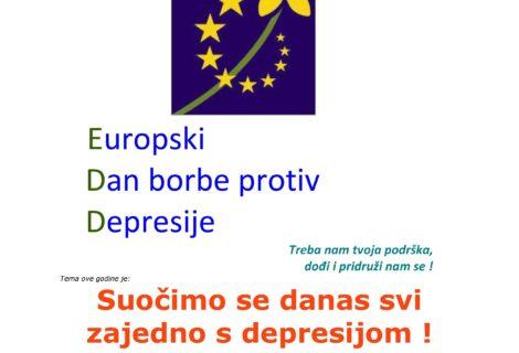 Europki dan borbe protiv depresije, 01.10.2019