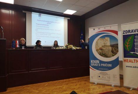 "Održana početna konferencija na kojoj je predstavljen projekt "" Knin grad s pričom"""